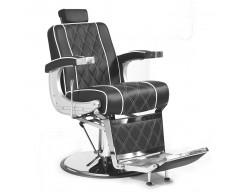 Cadeira de Barbeiro Clássica Negra