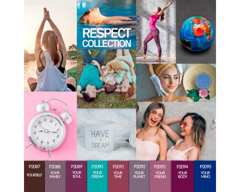 Verniz Gel Respect Collection 10 ml