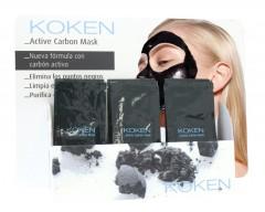 Máscara Negra de Carbono Activo Bolsa 9g