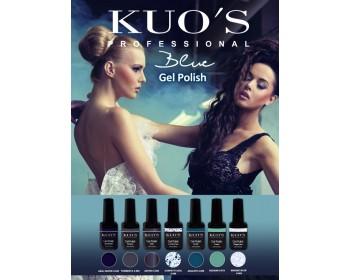 Gel-Polish Kuo`s - Colecção Azuis