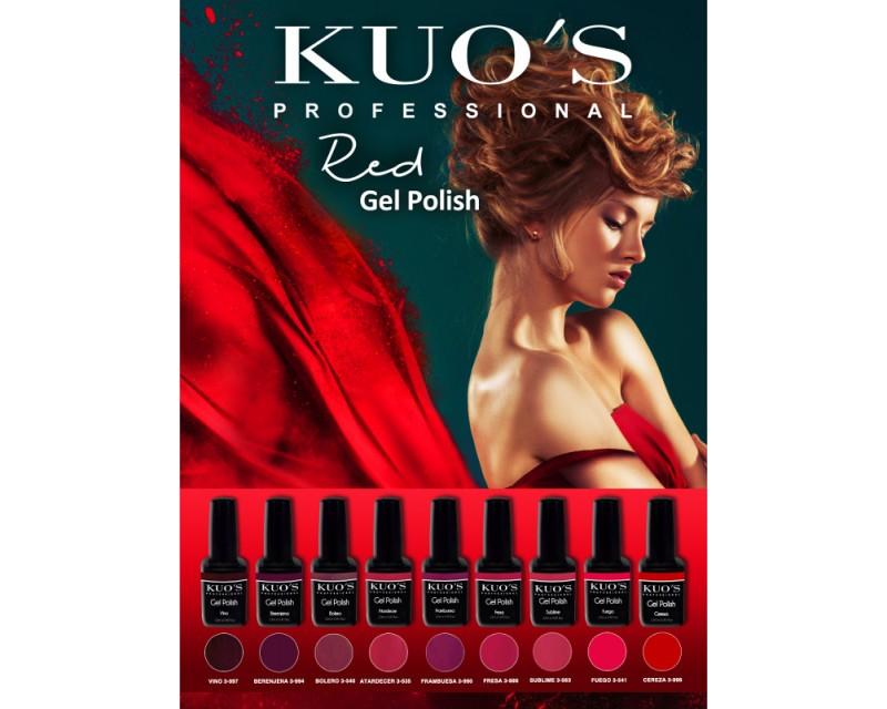 Gel-Polish Kuo`s - Colecção Vermelhos