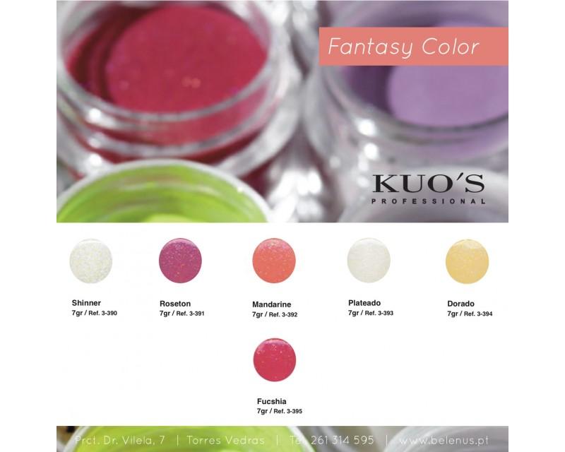 Pó Acrílico de Construção - Fantasy Color 7g Kuo`s