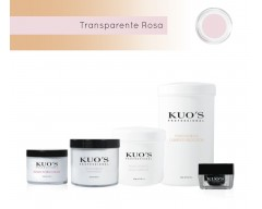 Pó Acrílico de Construção - Transparente Rosa Kuo`s