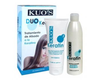 Duo Alisamento Suave Queratina 2x200ml Kuo's