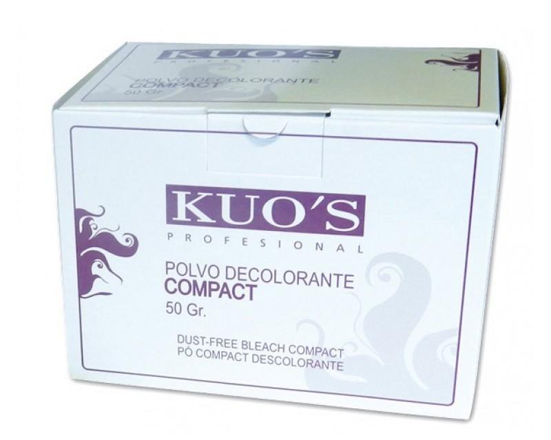 Pó Descolorante Compact - Caixa 10x50g Kuo's