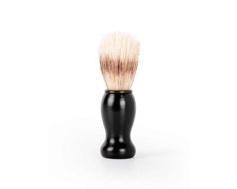 Pincel de Barbear Negro