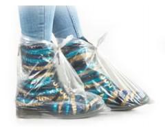 Sacos Descartáveis Cobrir Sapatos Polietileno 100 Uni