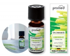 PROMED  aroma Lemon grass, 100 % óleo essencial, 10 ml