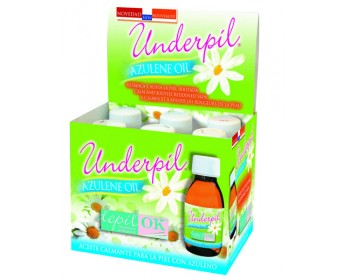 Underpil Azulene Oil Expositor 6 x 125 ml.