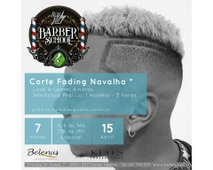 Workshop: Corte Fading com Navalha