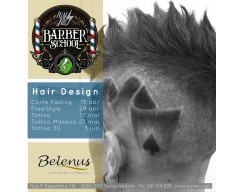 Agenda: Workshops Hair Design Barbearia