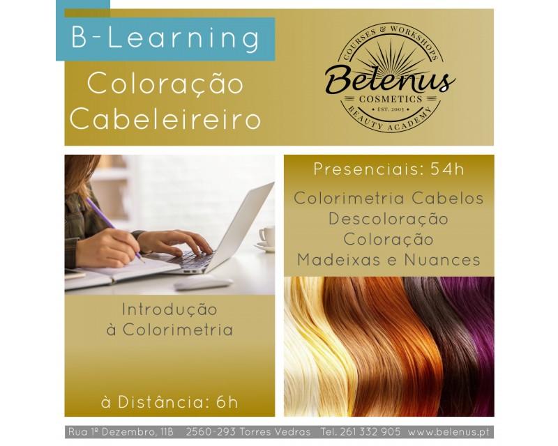 Curso: Profissional de Cabeleireiro - Coloração - B-Learning