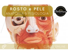 Curso Anatomia e Fisiologia do Rosto e Pele: E-Learning