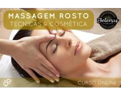 Curso Técnicas de Massagem e Cosmética Rosto: E-Learning