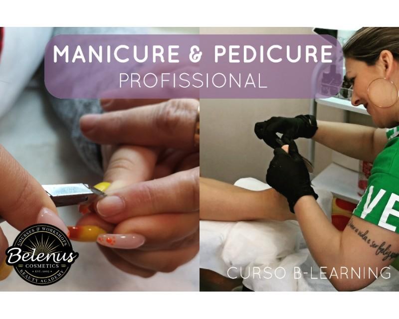 Curso Profissional Manicure e Pedicure: B-Learning