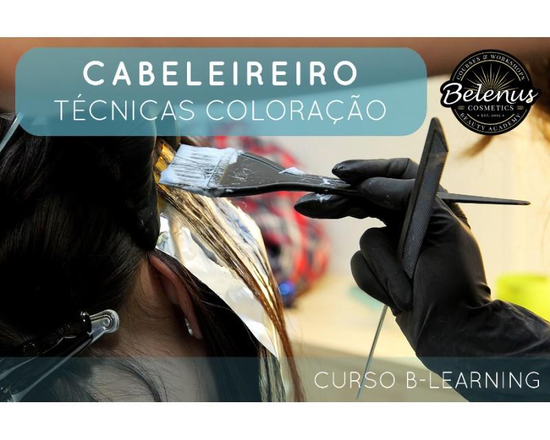 Curso: Profissional de Cabeleireiro Coloração | B-Learning