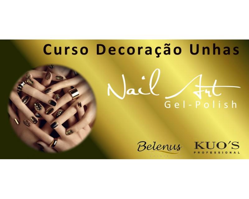 Curso: Decoração de Unhas - Nail Art - Gel-Polish