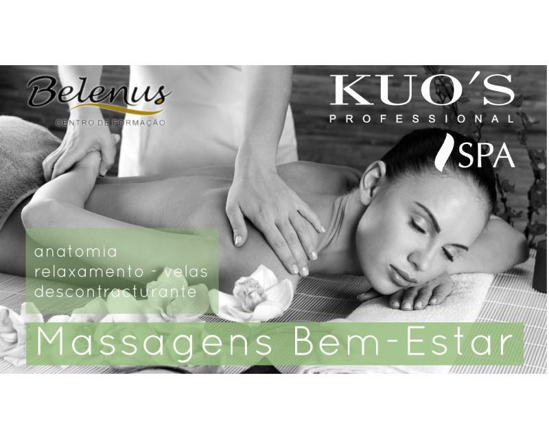 Curso: Profissional Massagens Bem-estar