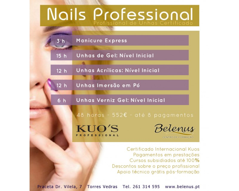 Curso: Certified Nails Professional