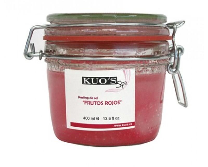 Peeling de Sal com Frutos Vermelhos 400ml