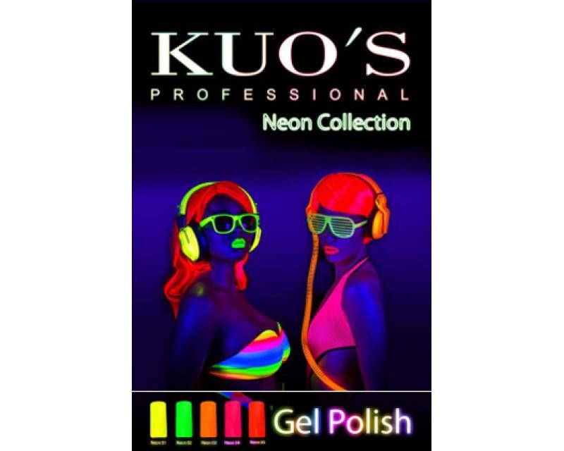 Gel-Polish Kuo`s - Colecção Neon