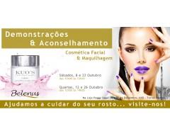 Demonstrações: Cosmética Facial e Maquilhagem