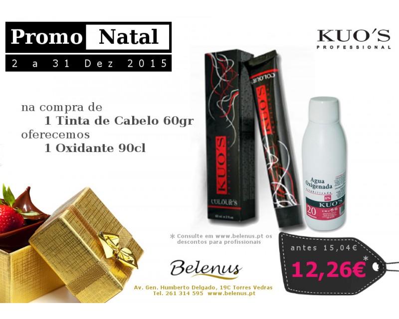Promo Natal 2015: 1 Tinta + 1 Oxidante