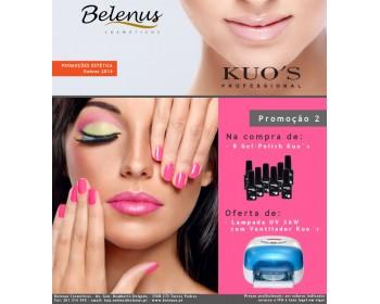Promoção 8 Verniz Gel-Polish Kuo`s - Outono 2014