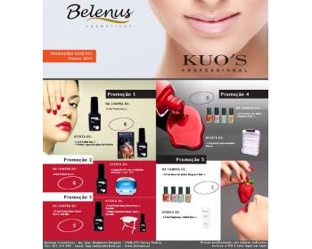 Promoções Vernizes e Gel-Polish Kuo`s - Outono 2014