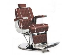 Cadeira de Barbeiro Clássica Marron