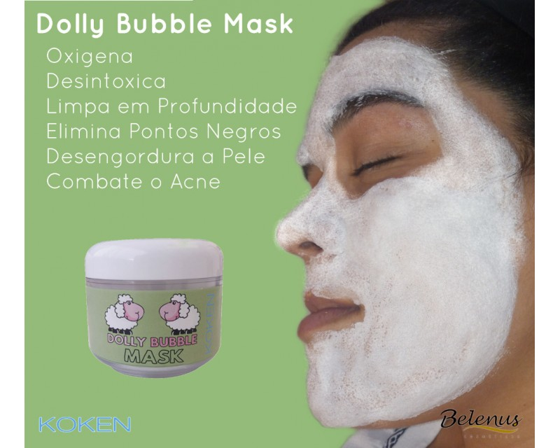 Máscara Dolly Bubble Koken 50ml