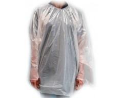 Kimono Poncho Polietileno 100% Branco 25 uni