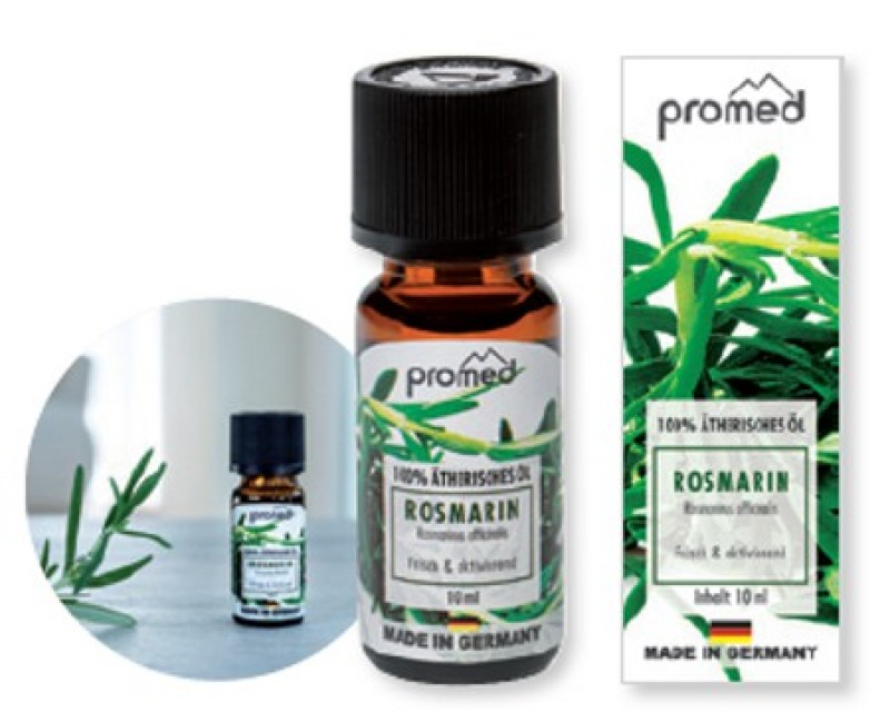 PROMED  aroma Rosemary, 100 % óleo essencial, 10 ml