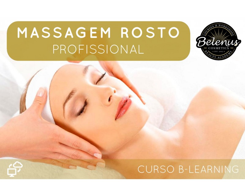 Curso Profissional de Massagens de Rosto: B-Learning