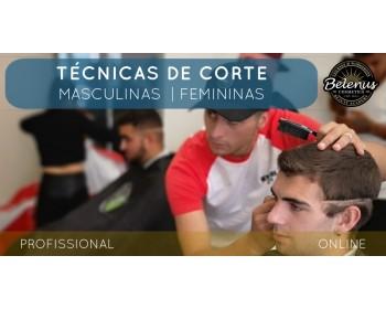 Curso Técnicas Corte Profissional: E-Learning
