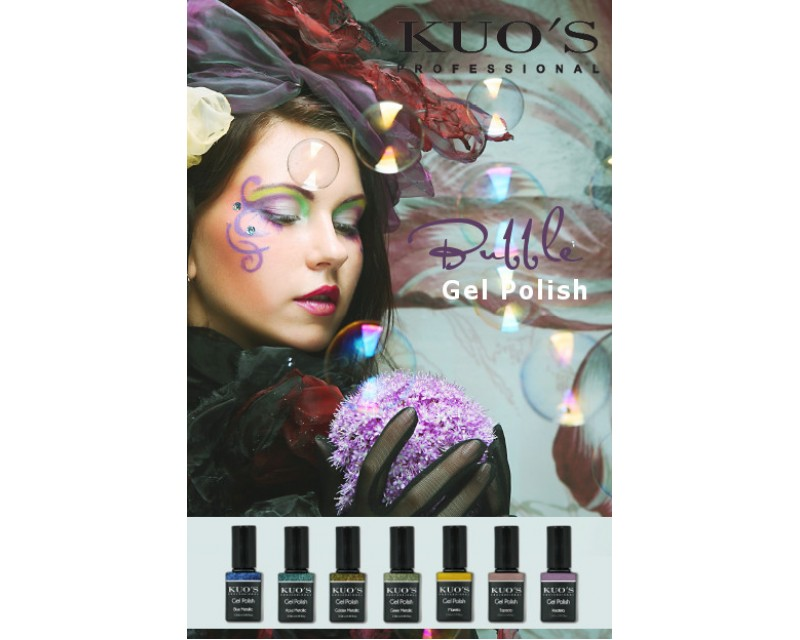 Gel-Polish Kuo`s - Colecção Bubble