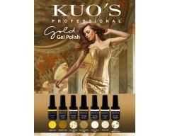 Gel-Polish Kuo`s - Colecção Gold